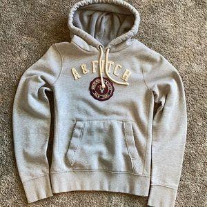 90s Abercrombie Hoodie - Grey - L